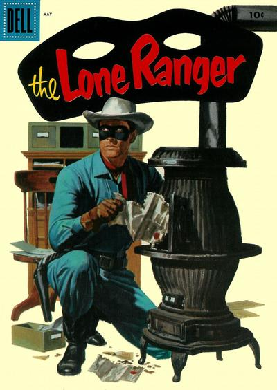 Cover for The Lone Ranger (Dell, 1948 series) #95