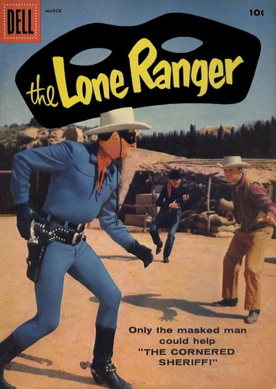 Cover for The Lone Ranger (Dell, 1948 series) #117