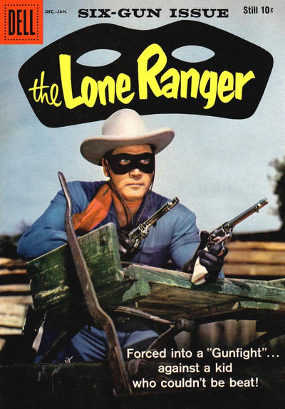 Cover for The Lone Ranger (Dell, 1948 series) #125