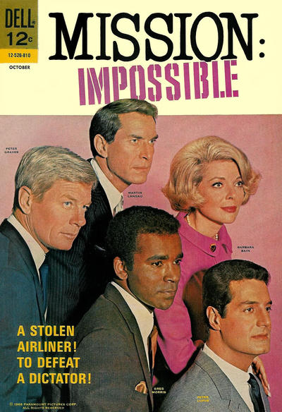 Cover for Mission: Impossible (Dell, 1967 series) #4