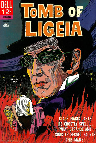 Cover for Tomb of Ligeia (Dell, 1965 series) #830