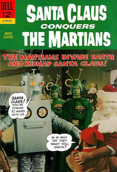 Cover for Santa Claus Conquers the Martians (Dell, 1966 series) #725