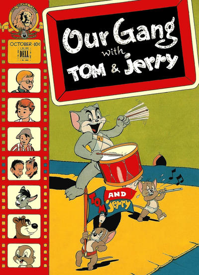 Cover for Our Gang Comics (Dell, 1942 series) #39
