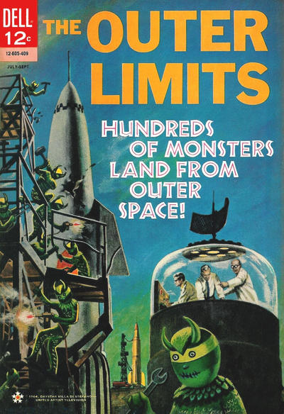 Cover for The Outer Limits (Dell, 1964 series) #3