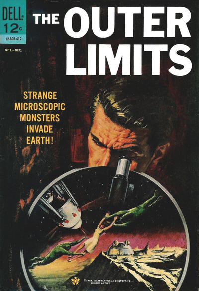 Cover for The Outer Limits (Dell, 1964 series) #4