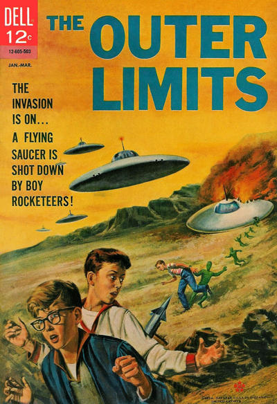 Cover for The Outer Limits (Dell, 1964 series) #5