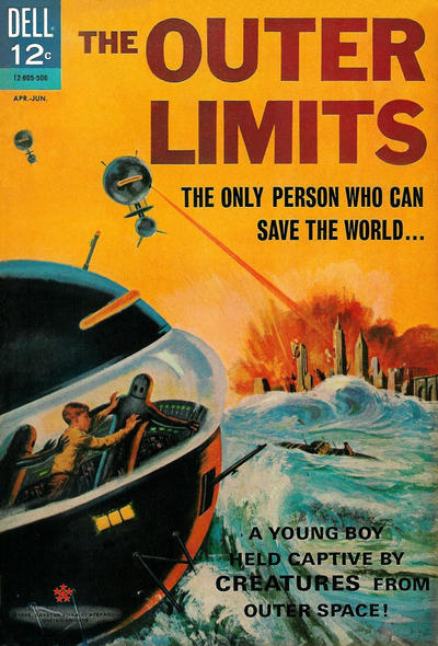 Cover for The Outer Limits (Dell, 1964 series) #6