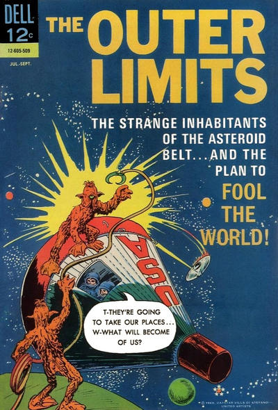 Cover for The Outer Limits (Dell, 1964 series) #7