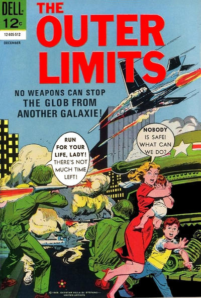 Cover for The Outer Limits (Dell, 1964 series) #8