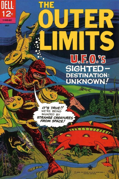 Cover for The Outer Limits (Dell, 1964 series) #9