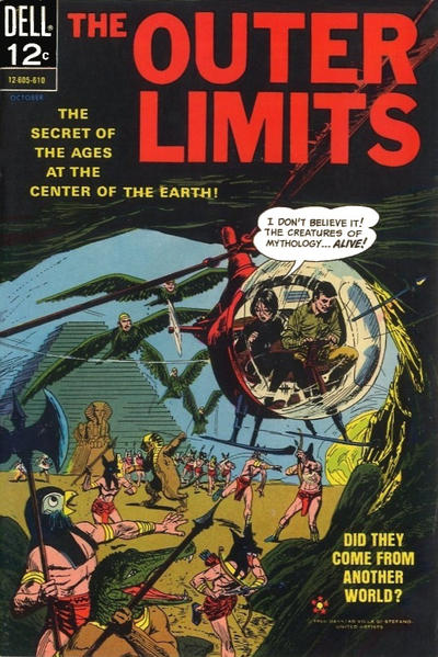 Cover for The Outer Limits (Dell, 1964 series) #10