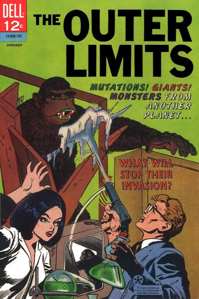 Cover for The Outer Limits (Dell, 1964 series) #11