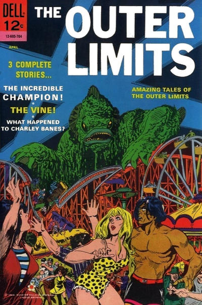 Cover for The Outer Limits (Dell, 1964 series) #12