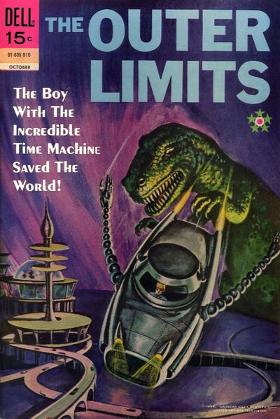 Cover for The Outer Limits (Dell, 1964 series) #18