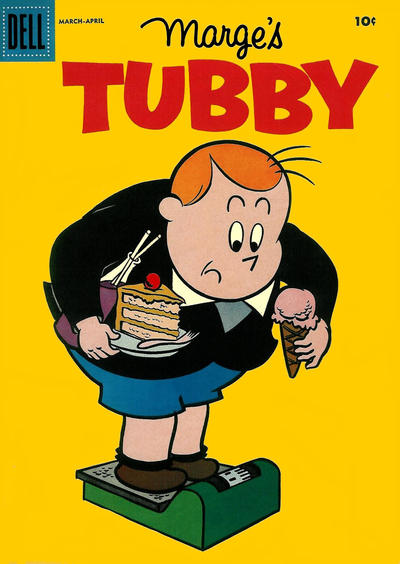 Cover for Marge's Tubby (Dell, 1953 series) #21