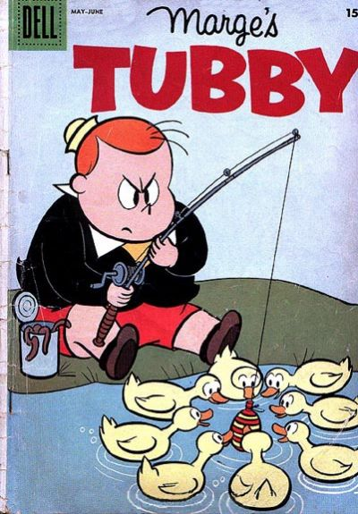 Cover for Marge's Tubby (Dell, 1953 series) #22