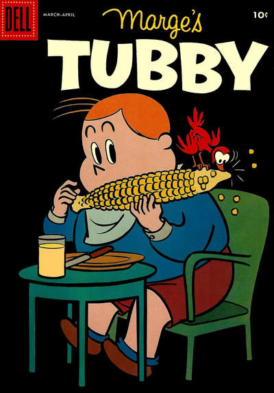 Cover for Marge's Tubby (Dell, 1953 series) #27