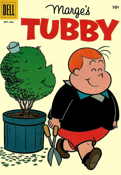 Cover for Marge's Tubby (Dell, 1953 series) #30
