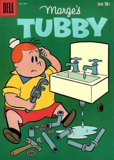 Cover for Marge's Tubby (Dell, 1953 series) #38