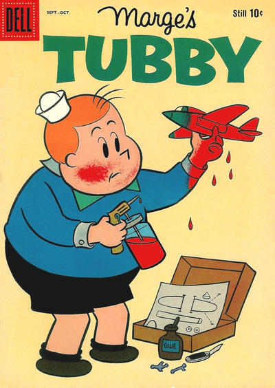 Cover for Marge's Tubby (Dell, 1953 series) #42