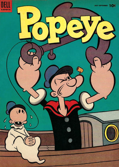 Cover for Popeye (Dell, 1948 series) #29