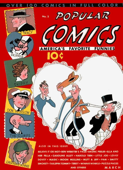 Cover for Popular Comics (Dell, 1936 series) #2