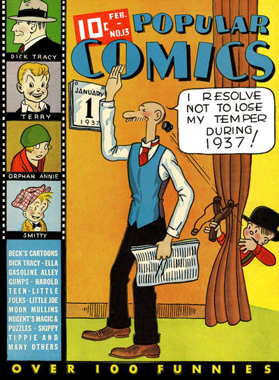 Cover for Popular Comics (Dell, 1936 series) #13