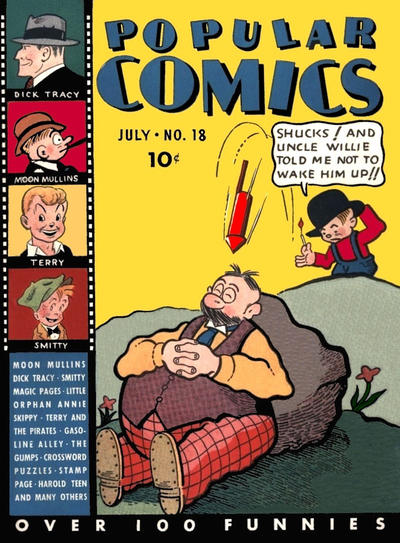 Cover for Popular Comics (Dell, 1936 series) #18