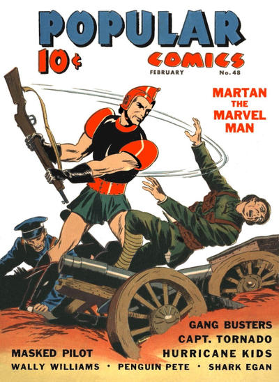 Cover for Popular Comics (Dell, 1936 series) #48
