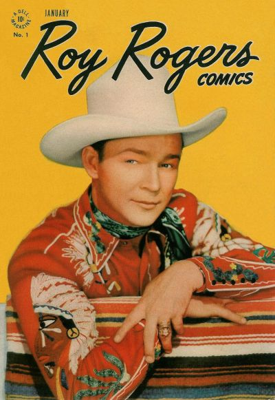 Cover for Roy Rogers Comics (Dell, 1948 series) #1