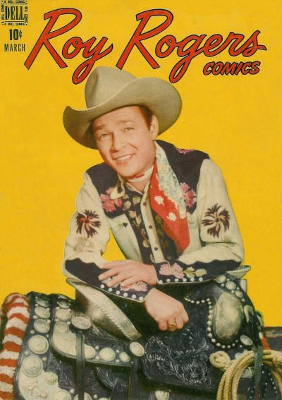 Cover for Roy Rogers Comics (Dell, 1948 series) #3