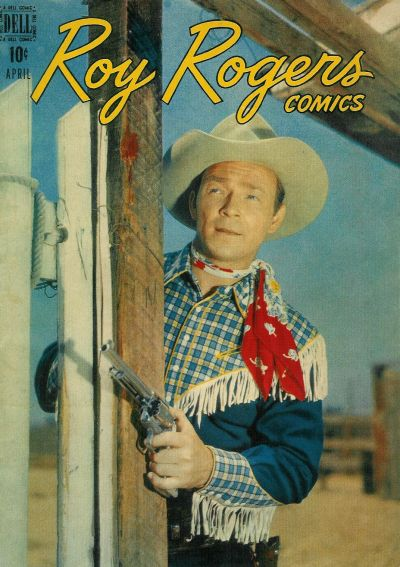 Cover for Roy Rogers Comics (Dell, 1948 series) #4