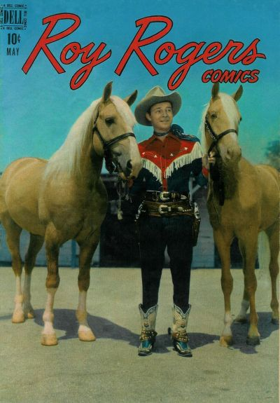 Cover for Roy Rogers Comics (Dell, 1948 series) #5
