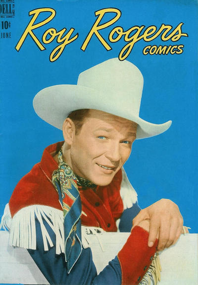 Cover for Roy Rogers Comics (Dell, 1948 series) #6