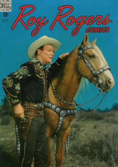 Cover for Roy Rogers Comics (Dell, 1948 series) #7