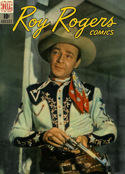 Cover for Roy Rogers Comics (Dell, 1948 series) #8