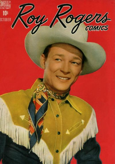 Cover for Roy Rogers Comics (Dell, 1948 series) #10