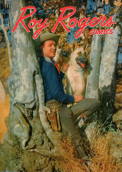 Cover for Roy Rogers Comics (Dell, 1948 series) #12