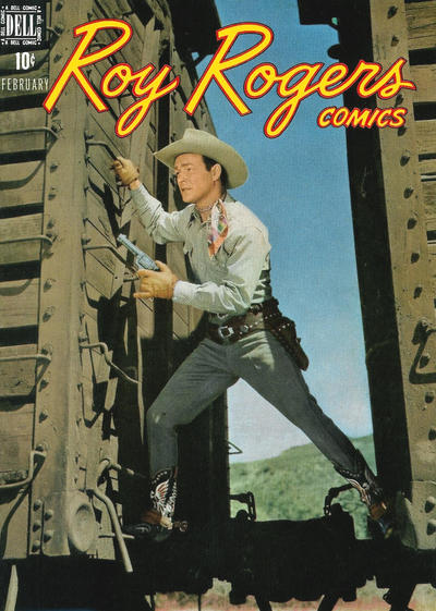 Cover for Roy Rogers Comics (Dell, 1948 series) #14