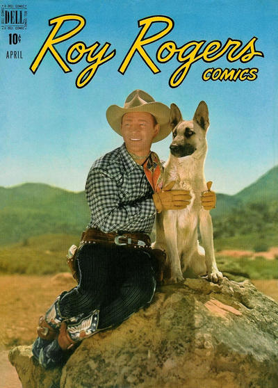 Cover for Roy Rogers Comics (Dell, 1948 series) #16