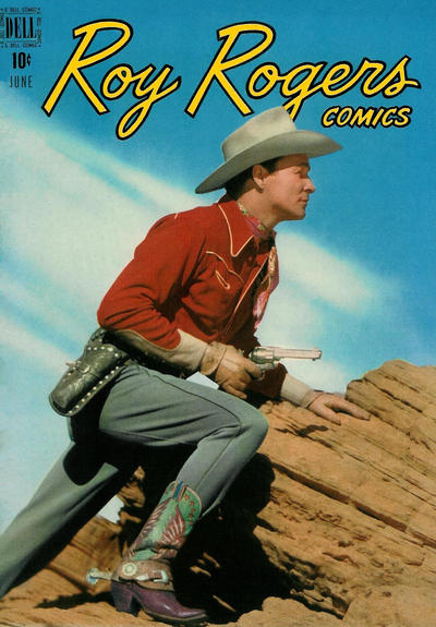 Cover for Roy Rogers Comics (Dell, 1948 series) #18