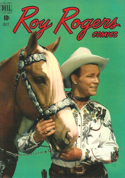 Cover for Roy Rogers Comics (Dell, 1948 series) #19