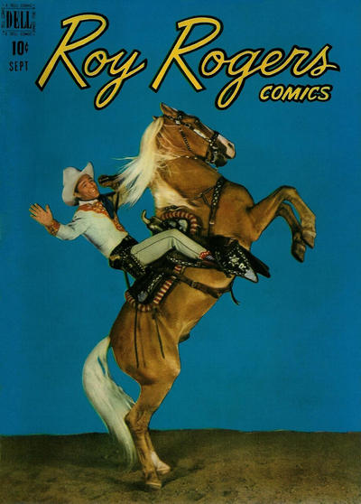 Cover for Roy Rogers Comics (Dell, 1948 series) #21