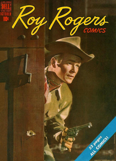 Cover for Roy Rogers Comics (Dell, 1948 series) #22