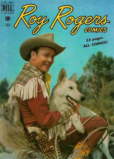 Cover for Roy Rogers Comics (Dell, 1948 series) #25