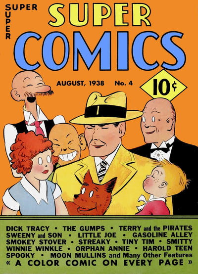 Cover for Super Comics (Western, 1938 series) #4