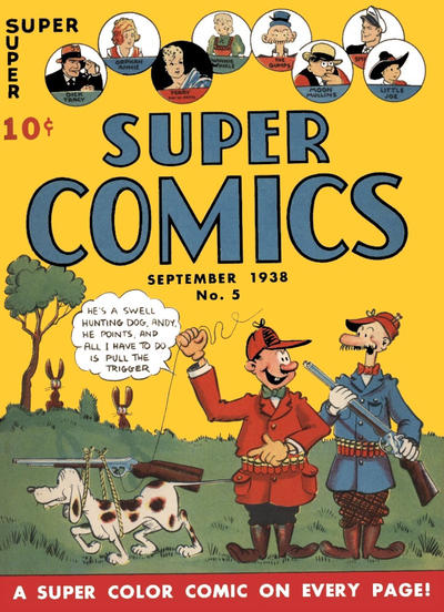 Cover for Super Comics (Western, 1938 series) #5