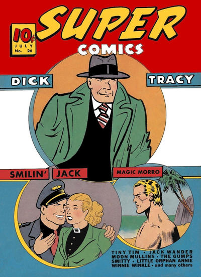 Cover for Super Comics (Western, 1938 series) #26