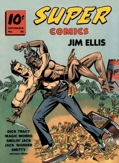 Cover for Super Comics (Western, 1938 series) #28