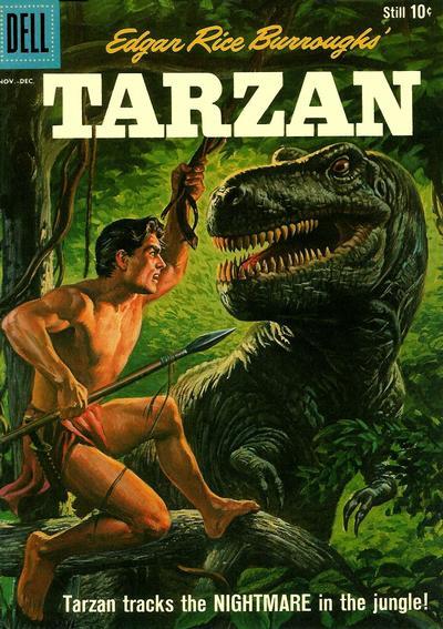 Cover for Edgar Rice Burroughs' Tarzan (Dell, 1948 series) #121